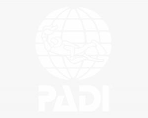 Padi logo white